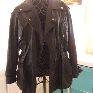 Very Soft leather Avanti riding jacket